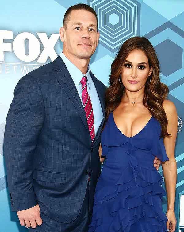 Image of Elizabeth Huberdeau ex-husband John Cena