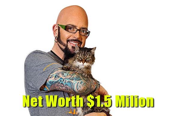 Image of Jackson Galaxy net worth is $1.5 million