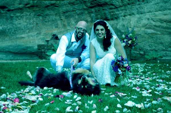 Image of Jackson Galaxy with his wife Minoo Rahbar