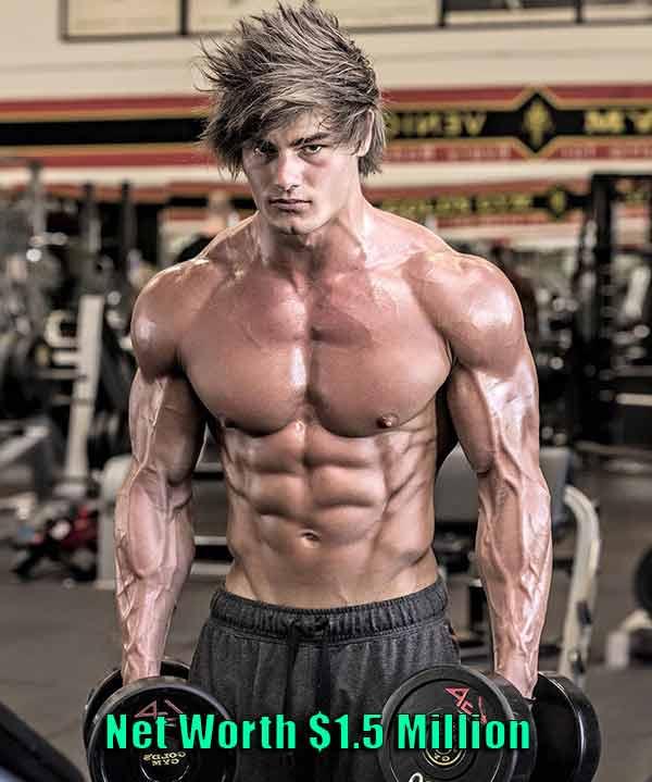 Image of Bodybuilder Jeff Seid net worth is $1.5 million