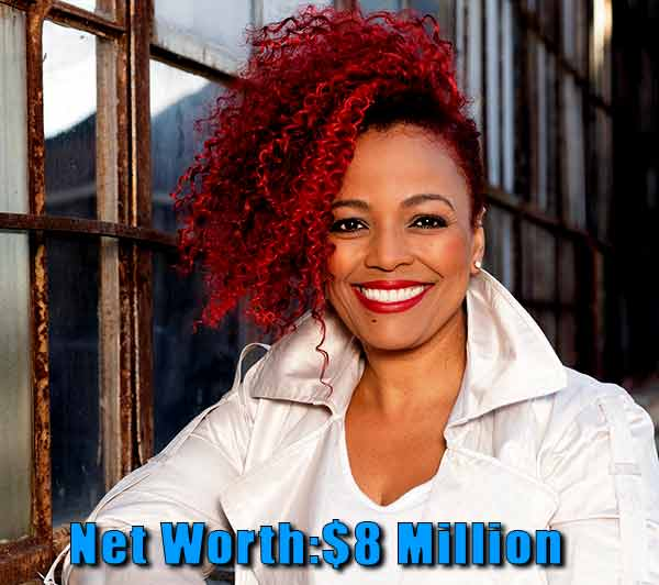 Image of The Realhouse wife cast Kim Fields net worth is $8 million