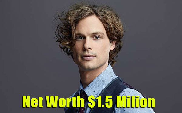 Image of Matthew Gray net worth is $1.5 million