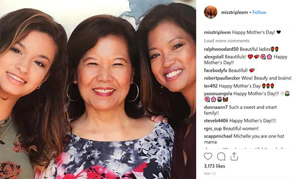 Image of Michelle Malkin celebrating mother's day