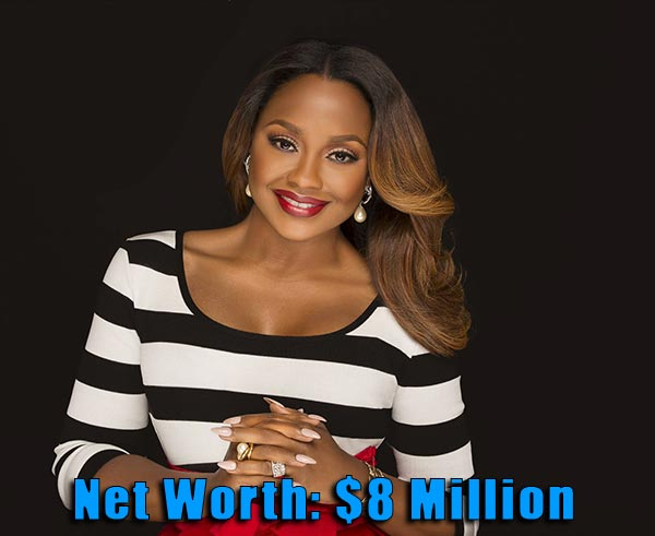 Image of The Realhouse wife cast Phaedra Parks net worth is $8 million