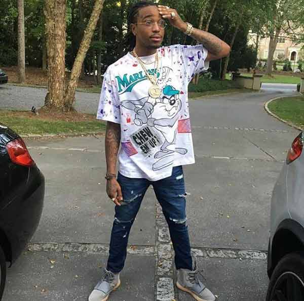 Image of Rapper, Quavo height is 5ft 10 ½ inches