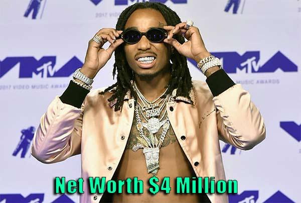 Image of Quavo net worth is $4 million