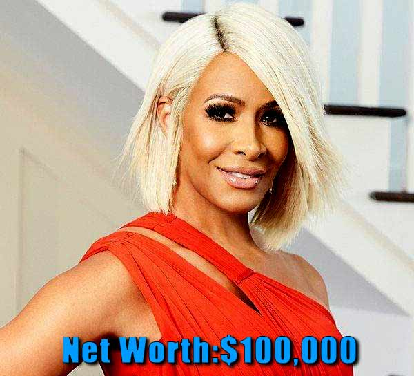 Image of The Realhouse wife cast Sheree Whitfield net worth is $100,000