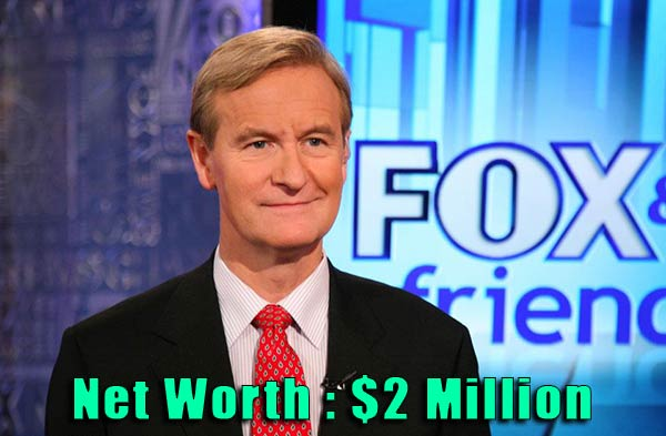 Image of TV Personality Steve Doocy net worth is $2 million