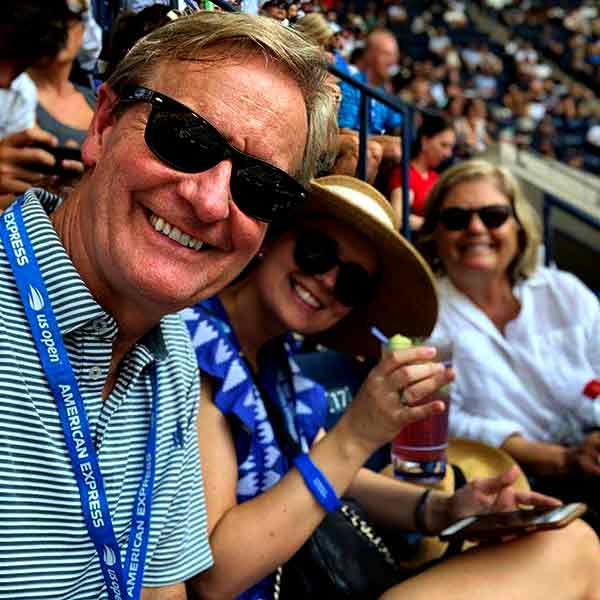 Image of TV Personality, Steve Doocy with his wife Kathy Gerrity