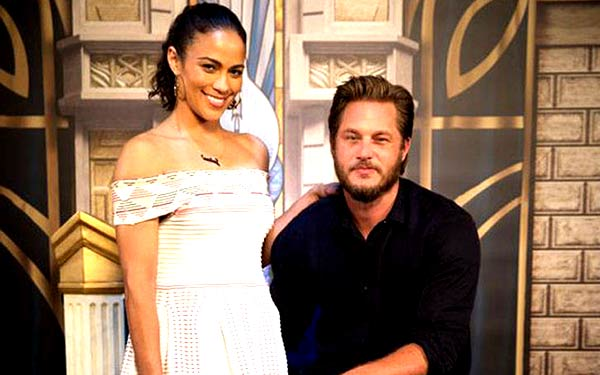 Who is travis fimmel dating now