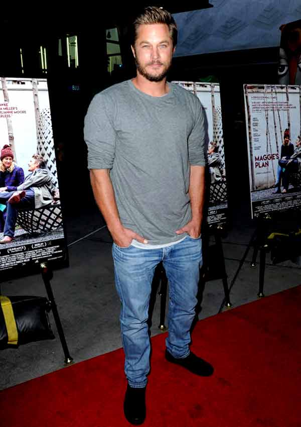 Image of Actor, Travis Fimmel height is 6 feet and 1 inch
