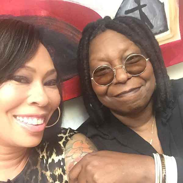 Image of Alex Martin with her mother Whoopi Goldberg