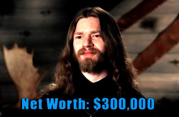Image of Alaskan Bush People cast Bear Brown net worth is $300,000