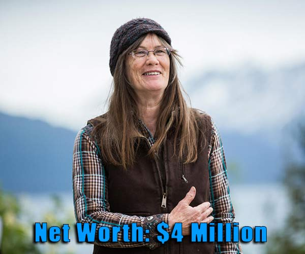Image of The Last Frontier cast Charlotte Kilcher net worth is $4 million