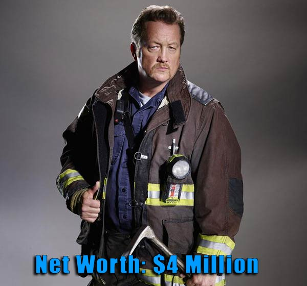 Image of Chicago Fire cast Christian Stolte net worth is $4 million