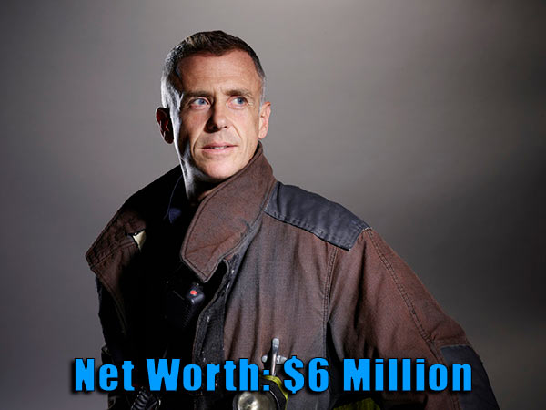 Image of Chicago Fire cast David Elgenberg net worth is $6 million