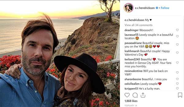 elizabeth hendrickson dating billy miller