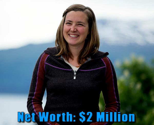 Image of The Last Frontier cast Eve Kilcher net worth is $2 million