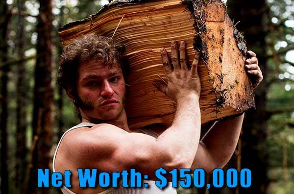 Image of Alaskan Bush People cast Gabe Brown net worth is $150,000