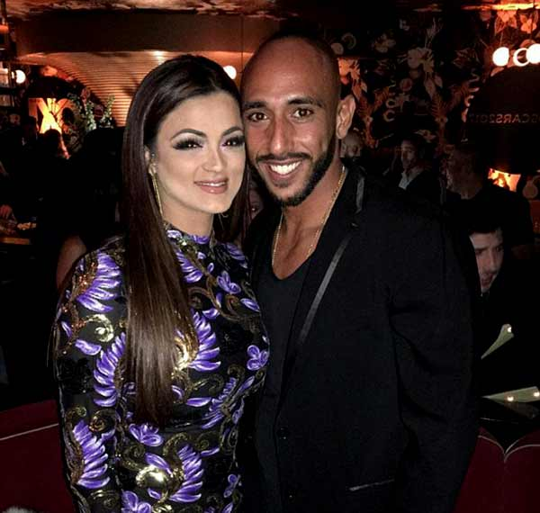 Image of Golnesa Gharachedaghi with her ex-husband Golnesa Gharachedaghi