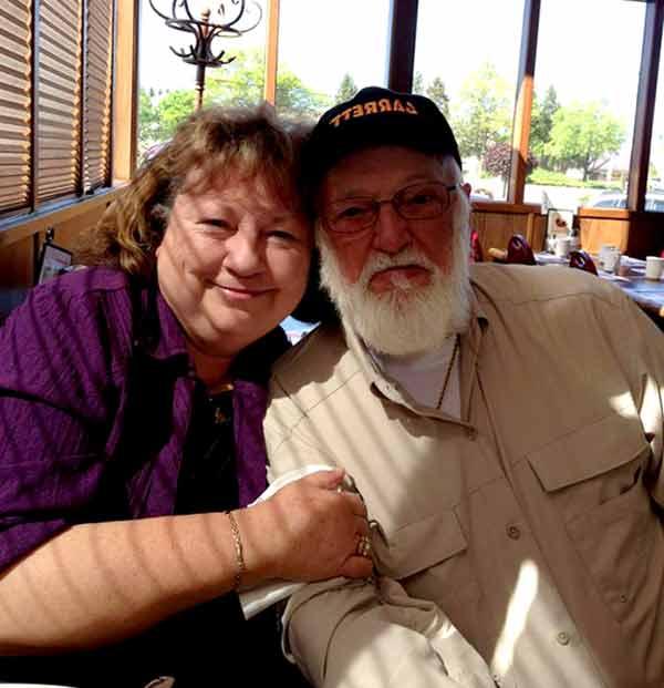 Image of Jack Hoffman with his wife Georgia Hoffman