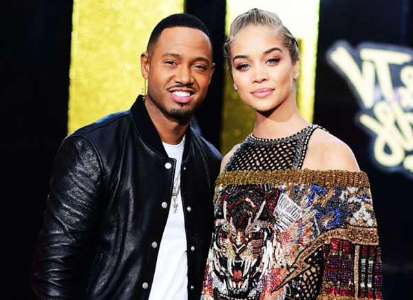 Image of Model Jasmine Sanders with her boyfriend Terrence Jenkins