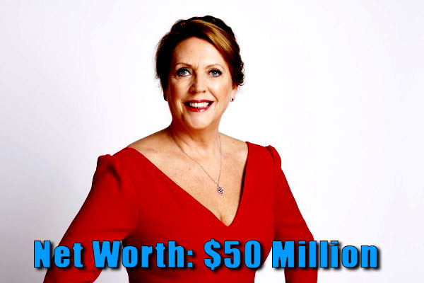 Image of Dragon Den cast Jenny Campbell net worth is $50 million