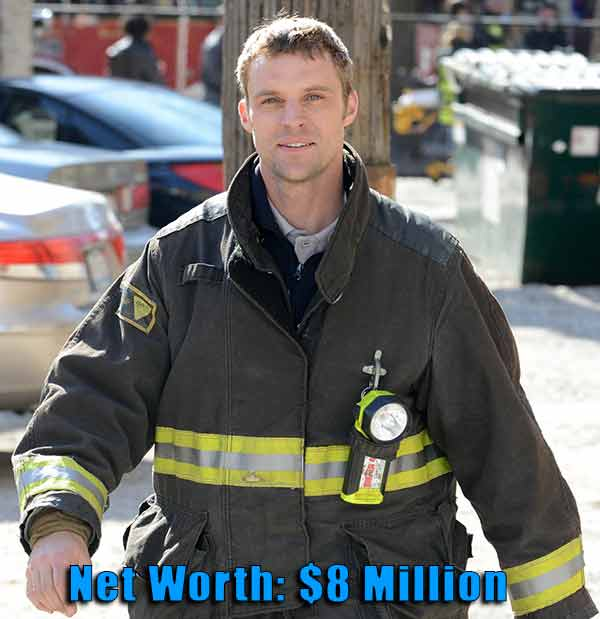Image of Chicago Fire cast Jesse Spencer net worth is $8 million