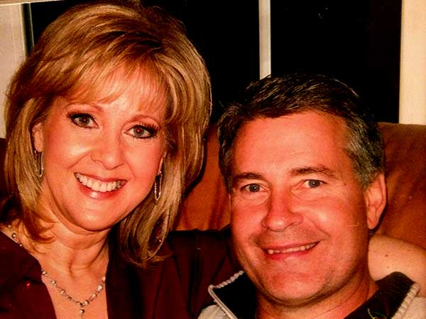 Image of QVC Mary Beth Roe with her husband Mark