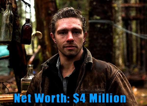 Image of Alaskan Bush People cast Matt Brown net worth is $4 million