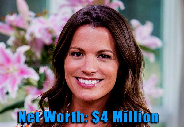 Image of Actor, Melissa Claire Egan net worth is $4 million