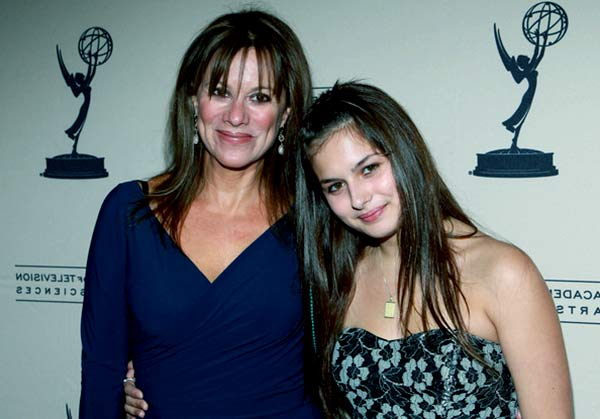 Image of Nancy Lee Grahn with her daughter Katherine Grace