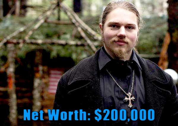 Image of Alaskan Bush People cast Noah Brown net worth is $200,000