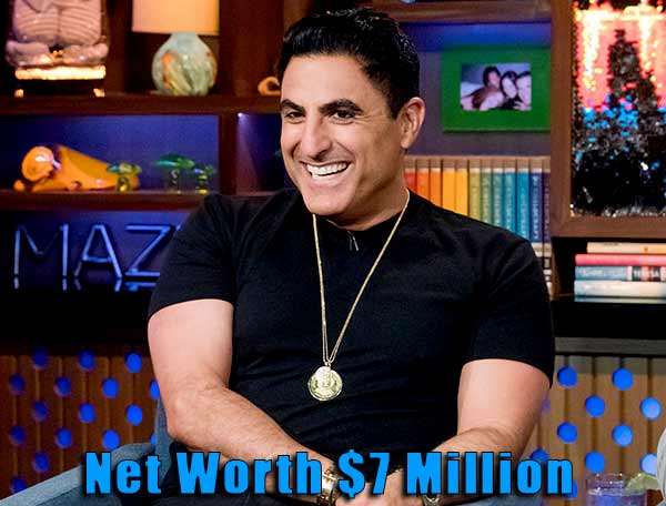 Image of Reza Farahan from Shahs of Sunset net worth is $7 million