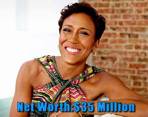 Image of Journalism, Robin Roberts net worth is $35 million