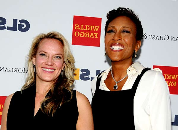 Image of Robin Roberts with her partner Amber Laign