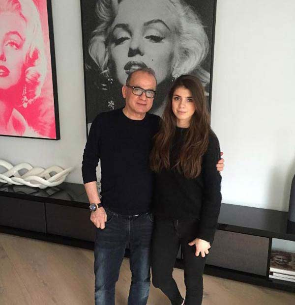Image of Businessperson Touker Suleyman with her daughter Tashia