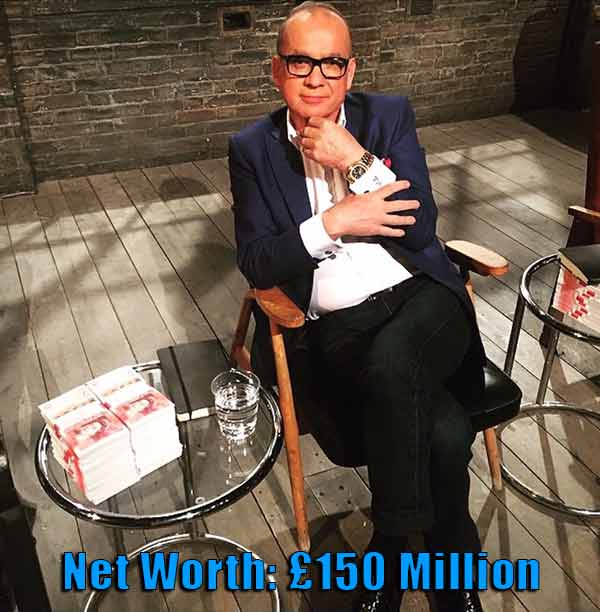 Image of Businessperson Touker Suleyman net worth is £150 million