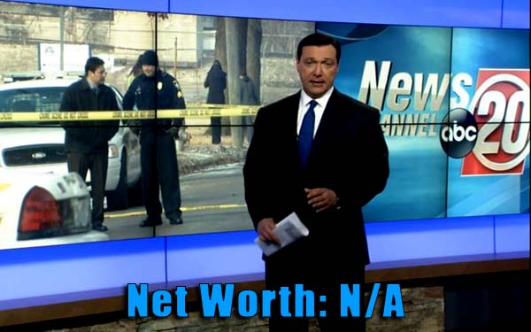 Image of TV Journalist, Vince Dementri net worth is not available