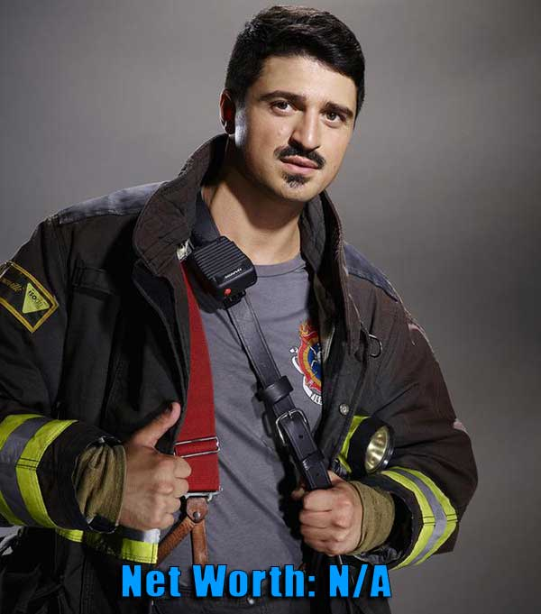 Image of Chicago Fire cast Yuri Sardov net worth is not available