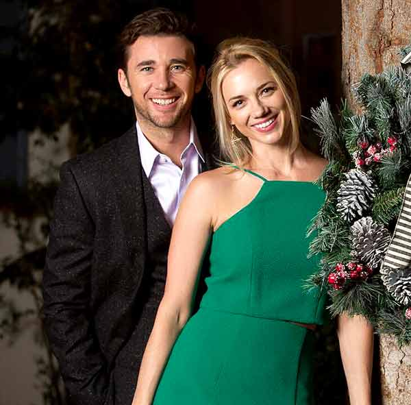 Image of Billy Flynn with his wife Gina Comparetto.