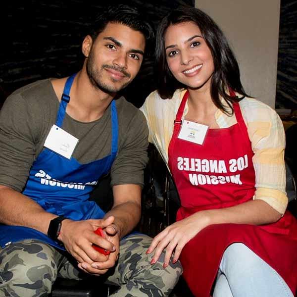 Image of Camila Banus with her boyfriend Marlon Aquino.