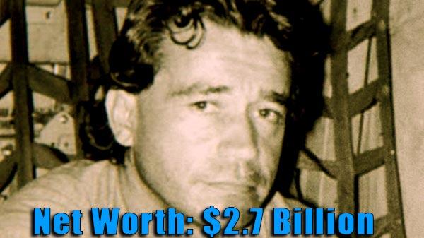 Image of Drug Lord, Carlos Lehder net worth is $2.7 billion