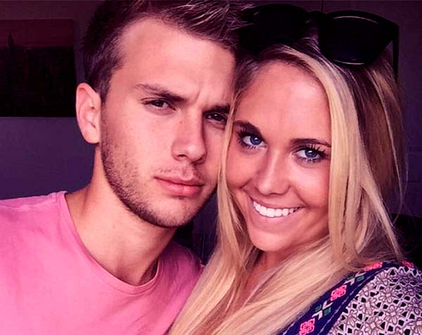 Image of Chase Chrisley with his ex-girlfriend Brooke Noury
