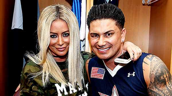Image of Dj Pauly D with his ex-girlfriend Aubrey O'Day