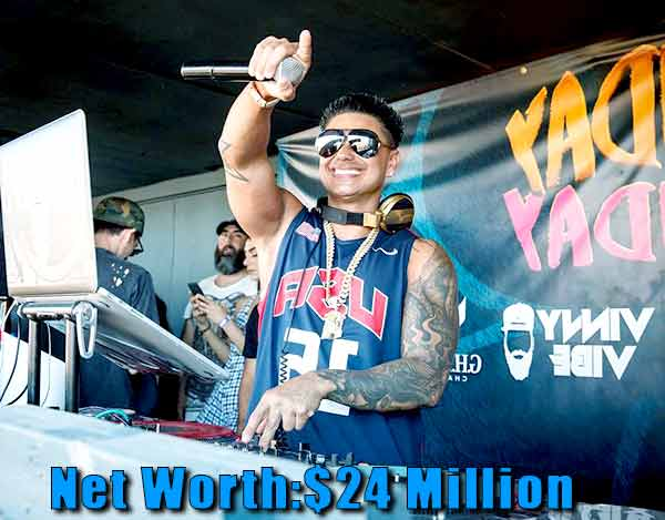 Image of Dj Pauly D net worth is $24 million