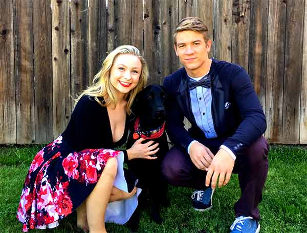 Image of Lucas Adams with his girlfriend Shelby Wulfert