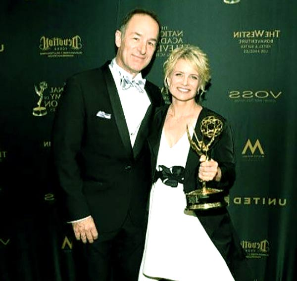 Image of Mary Beth Evans with her husband Michael Schwartz