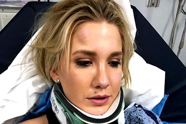 Image of Savannah Chrisley got an accident