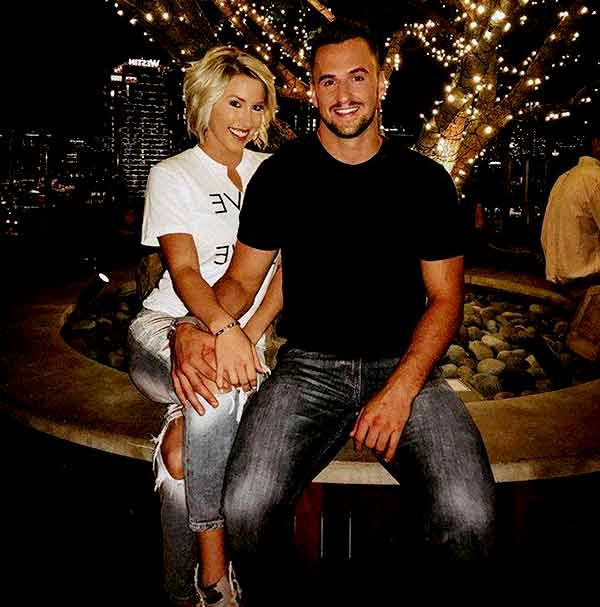 Image of Savannah Chrisley with her boyfriend Nic Kerdiles.